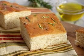 easy focaccia bread eat drink