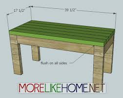 Planter Bench Seat More Like Home Day 16 Build A Bench And Planters