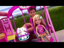 chelsea swing u0026 chelsea doll clubhouse playset barbie