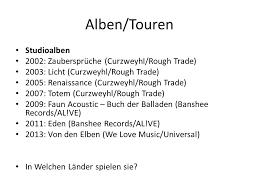 faun zaubersprüche meine deutsche band faun ppt herunterladen