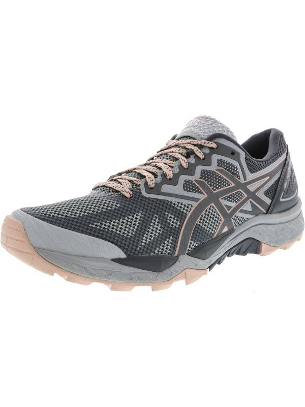 Asics Gel-Fujitrabuco 6 Mid Grey / Carbon Evening Sand Ankle-High Running Shoe 6M