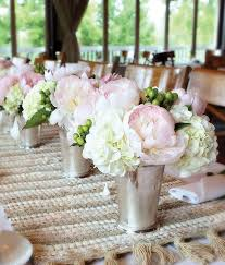 Mint Julep Vase Pink Wedding Centerpieces Mywedding