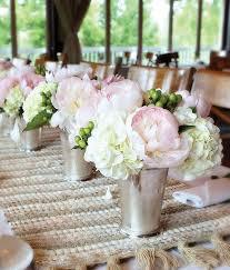 Mint Julep Vase Pink Wedding Centerpieces Mywedding