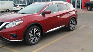 nissan murano 2017 platinum 2016 nissan murano platinum cayenne red youtube