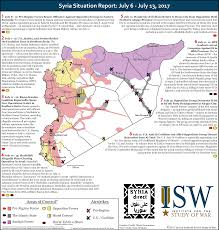 Syria Situation Map by Isw Blog Syria Situation Report June 29 July 27 2017