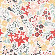 flowers seamless pattern element vector background flower seamless pattern with cute elements stock vector dashag