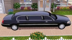 toyota limo fresh prince creations sims 3 2010 lincoln town car limo