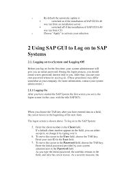 Retail Cashier Resume Sample by Sap Gui