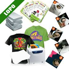 color t shirt sublimation transfer paper for laser printer