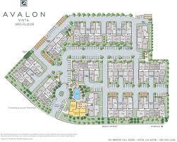 Westfield Garden City Floor Plan Vista Apartments In San Diego County California Avalon Vista