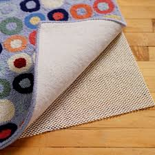 eco friendly non slip area rug u0026 carpet pads the land of nod