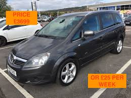 opel zafira 2010 used vauxhall zafira 2010 for sale motors co uk