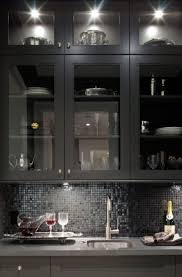black glass tiles for kitchen backsplashes 41 best backsplash images on backsplash kitchen