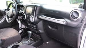 jeep wrangler console 2013 jeep wrangler unlimited sahara stock 6697 for sale near