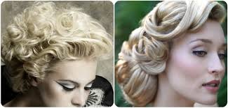 old hollywood hair updo hair style and color for woman