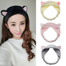 cloth headbands new women animal cat ears cloth headband for
