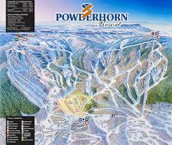 Keystone Resort Map Powderhorn Mountain Resort Trail Map Colorado Ski Resort Maps