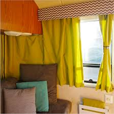 Unusual Draperies by Tips For Decorating The Interior Of Your Rv And Trailer