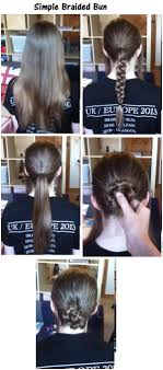 put your hair in a bun with braids simple classy braided bun step 1 brush your hair so there are no