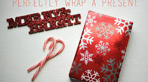 How To Gift Wrap A Present - how to wrap a present perfectly youtube