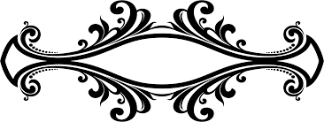 clipart decorative ornamental flourish frame aggrandized 25