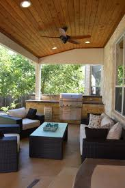 Screened In Patio Designs by Austin Porch Builder