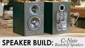 Bookshelf Speaker Amp C Note Bookshelf Speakers Kit Build Built In Wifi U0026 Bluetooth