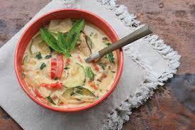 vegan thai vegetable soup cooks world