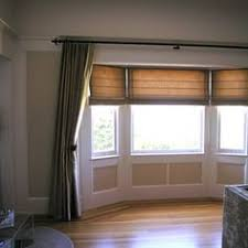 Window Bay Curtains Attractive Window Treatment Ideas For Bay Windows And Window Doors