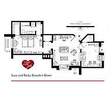 Tv Show Apartment Floor Plans Lucy And Ricky Ricardo U0027s Apartment