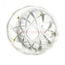 Bobeche For Chandelier Crystal Bobeche 4 5 8 Inch Clear With 26mm Center Hole 5 Pins