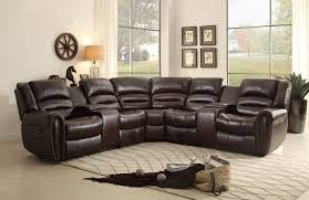 Sectional Recliner Sofas Microfiber Sofa Leather Reclining Sofa With Chaise Power Sectional Couches