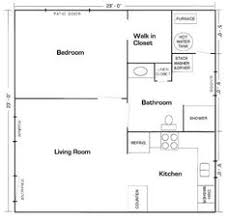 garage with inlaw suite 20 x20 apt floor plan mother in law suite picture gallery