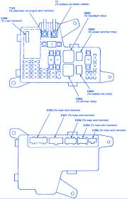 honda accord ex4 1992 engine fuse box block circuit breaker