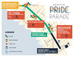 Seattle Breweries Map by 2015 Seattle Pride Parade U0026 Festival Route Map Pictures Free