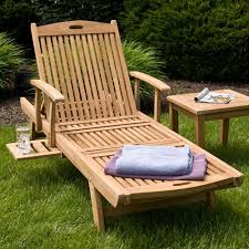 Wooden Outdoor Lounge Furniture Furniture Cream Wooden Outdoor Chaise Lounge For Vintage Patio Decor