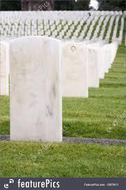 marble headstones cemetery unmarked white marble headstones