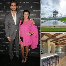 kourtney kardashian new house calabasas ca popsugar home