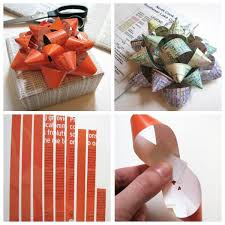 bow wrapping paper make diy gift bows from scrap paper