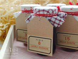 jam wedding favors dotted wedding favors local jam
