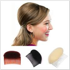 ponytail bump bump up volume hair inserts comb hair styling retro disc tool