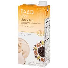 tazo chai black tea concentrate classic latte 32 0 fl oz