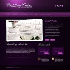 wedding cake websites wedding cake website template 27947
