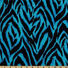 Blue Leopard Print 5 98 Yd Animal Print Zebra Blue Black 44