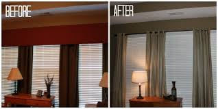 Family Room Curtains Update Your Family Room Even On A Small Budget