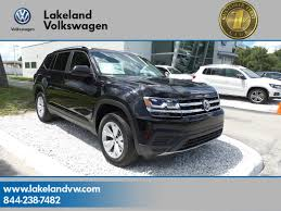 atlas volkswagen black new 2018 volkswagen atlas 3 6 s sport utility in lakeland