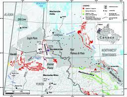 Yukon River Map Lithogeochemical Characterization Of The Middle U2013upper Devonian