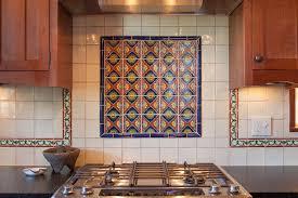 Tile Kitchen Backsplash Ideas With Enchanting Mexican Tile Backsplash Ideas For Kitchen 13 With