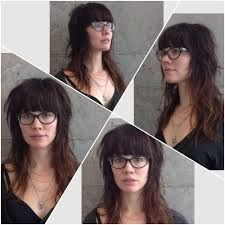 shag haircuts showing back of head rock n roll shag bespectacled www tothewoodssalon com long hair