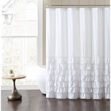 Ruffled Shower Curtains Ruffle Shower Curtains Hayneedle